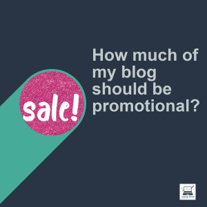 Blog promotional sale spotlight
