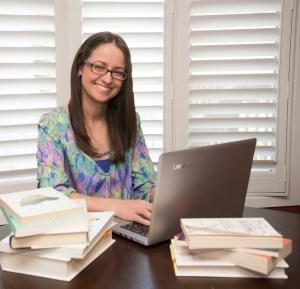 Leesa Klich at desk