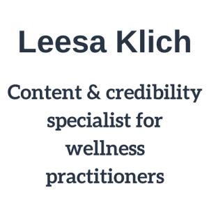 Leesa Klich small logo