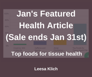 Featured health article Jan 2018