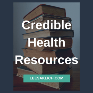 credible health resources