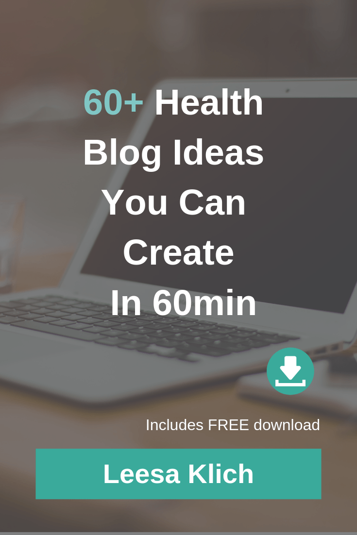 60+ health blog ideas #blogger #health