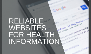 Reliable websites for health information