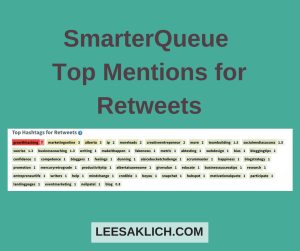 SmarterQueue Retweets