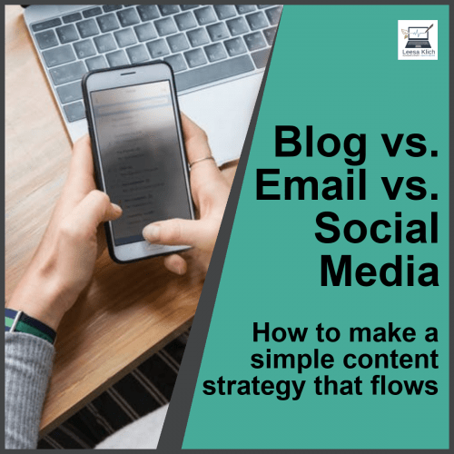 Blog vs Email vs Social media