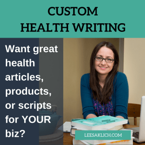 Leesa Klich Health Writing