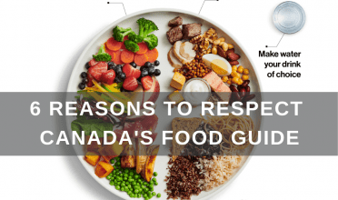 6 reasons to respect Canada's food guide