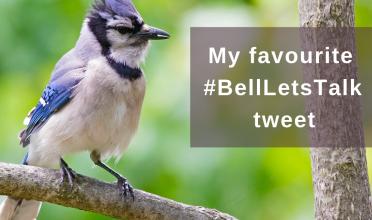 My fav #BellLetsTalk tweet