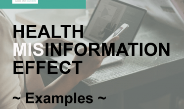 Health misinformation effect examples