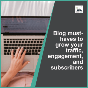 Course blog must-haves