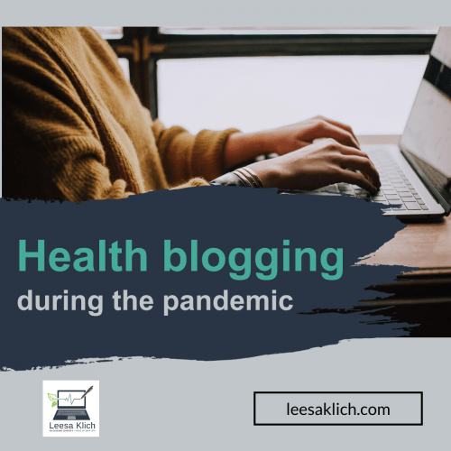 3 things to help you blog during the pandemic