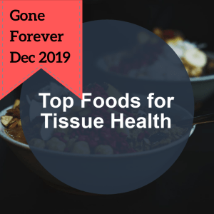 done-for-you tissue health discontinuing dec 2019