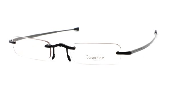 Calvin Klein opvouwbare leesbril CR1E590 Zwart