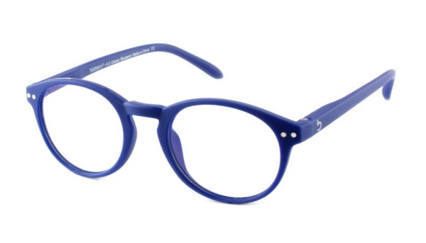 Computerbril Blueberry M blauw