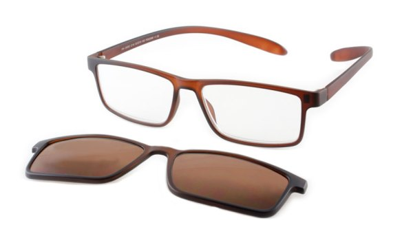 Lees en zonneleesbril in één Proximo PRIS003 C16 bruin