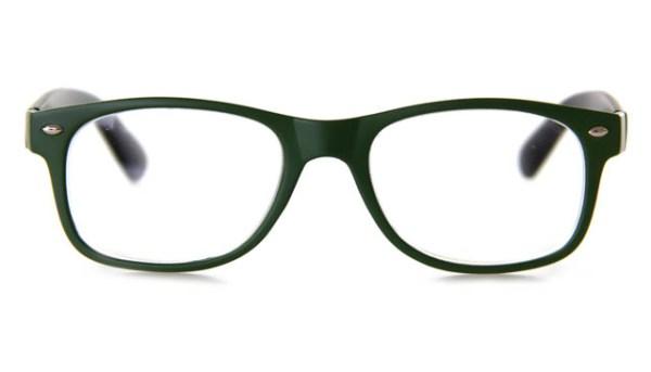 Leesbril FF 8350 03 legergroen/zwart