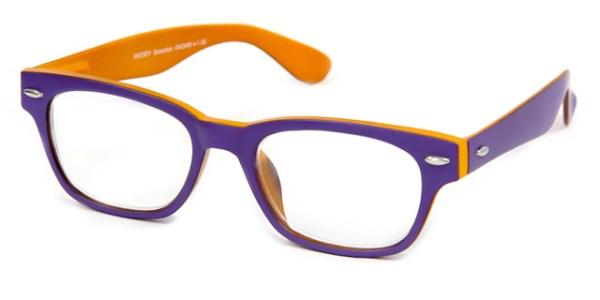 Leesbril INY Woody Double G42400 paars/oranje