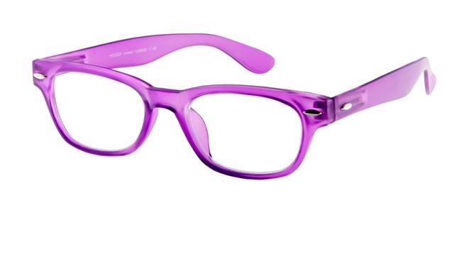 Leesbril INY Woody G38600 paars/transparant