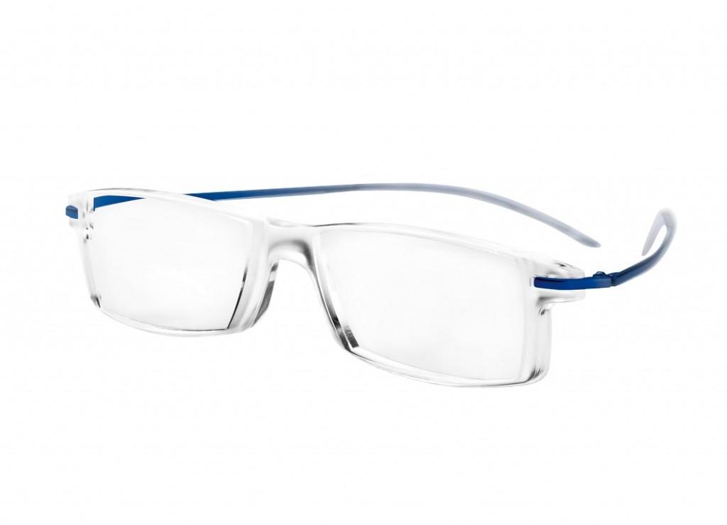 Leesbril Multifocaal MiniFrame 29052 transparant/blauw