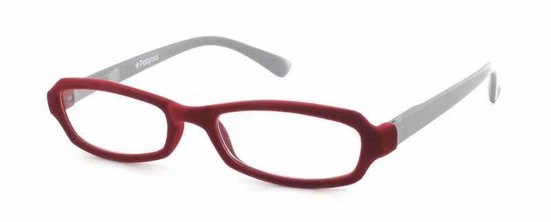 Leesbril Polaroid R969 fluweel rood/grijs