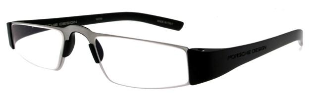 Leesbril Porsche Design P'8801a titanium/zwart