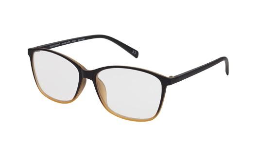 Leesbril Prego Karen Simonsen zwart licht bruin 60421