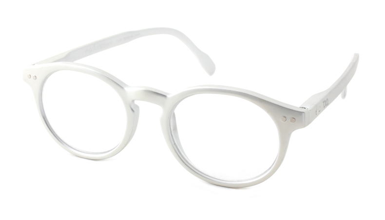 Leesbril Read Loop Tradition 2601-07 zilver met uv en blauwlicht filter