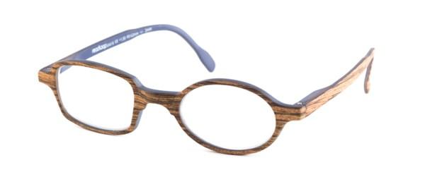 Leesbril Readloop Toukan 2606-01 hout grijs