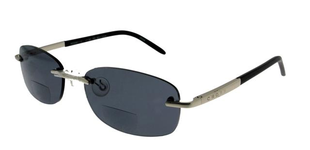 Leeszonnebril Cross Sun Bifocaal RD0061 zilver/zwart