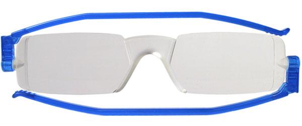 Leesbril Nannini compact opvouwbaar blauw