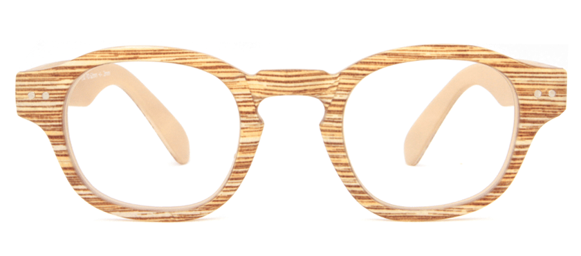 62d0eb5a4d7a7c Leesbril Readloop Everglades 2615-03 beige hout kopen