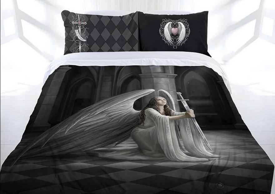 ANNE STOKES THE BLESSING Doona Cover Bed set Double Queen
