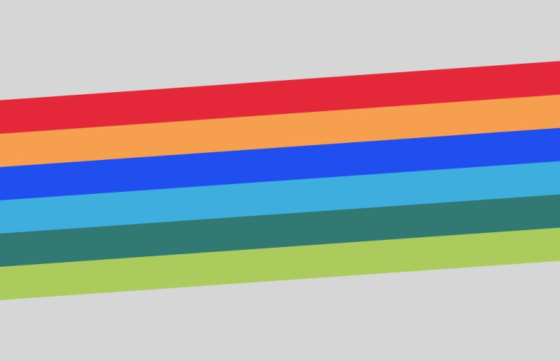 Design Future Now Rainbow Stripe