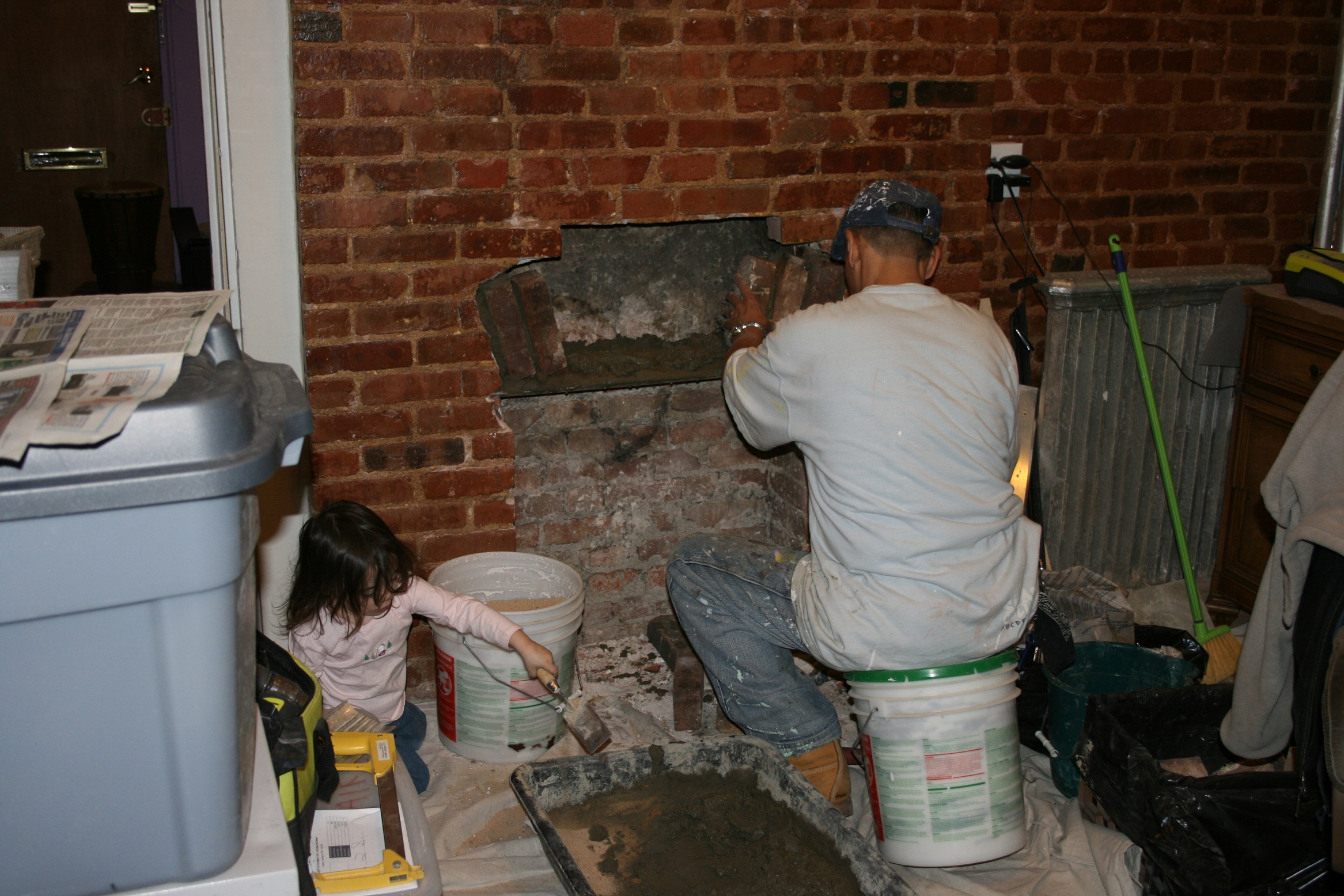 Properly closing and old fire place or flue no longer used