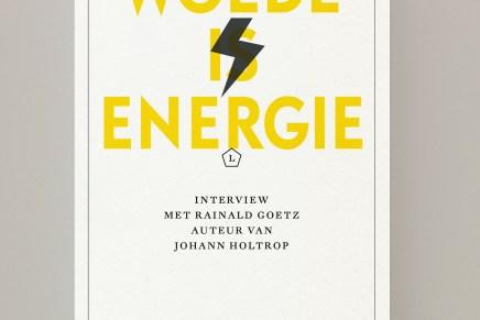 Moritz von Uslar, Ijoma Mangold – Woede is energie (interview met Rainald Goetz over oa Johann Holtrop)