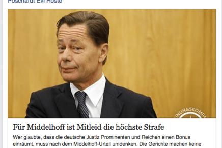 Thomas Middelhoff = Johann Holtrop; gedenkwaardige dag, lees het grandioze schandaal in Johann Holtrop van Rainald Goetz