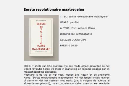 Eerste revolutionaire maatregelen, Het Voorwoord, Gert
