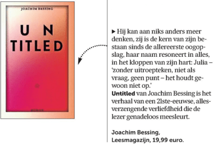Untitled, Joachim Bessing,in Signalement De Morgen