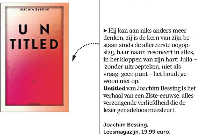 De Morgen Bessing 5 januari 2016