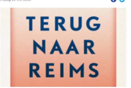Leven met paradoxen, Walter Lotens over Terug naar Reims van Didier Eribon, in De wereld morgen, 25 mei 2018.