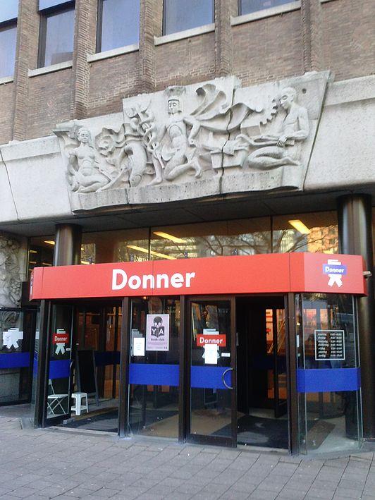 boekwinkel Donner_Coolsingel_119_ingang_1