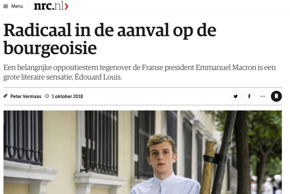 Radicaal in de aanval op de bourgeoisie