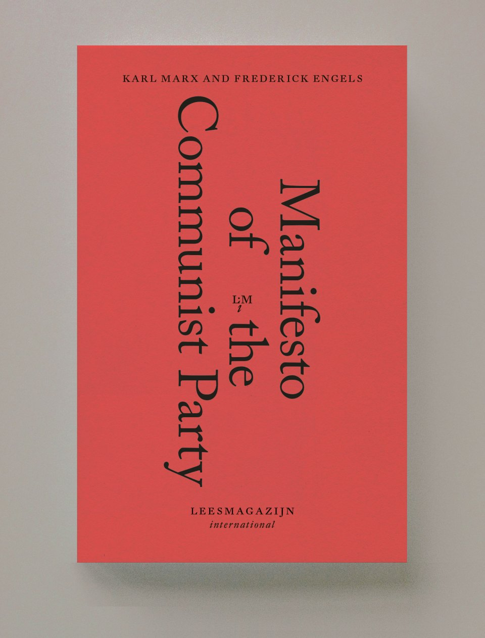 Manifest Of The Communist Party Karl Marx And Frederick