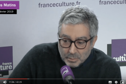 Didier Eribon : itinéraire d'un intellectuel engagé, France Culture, 8 feb. 2019