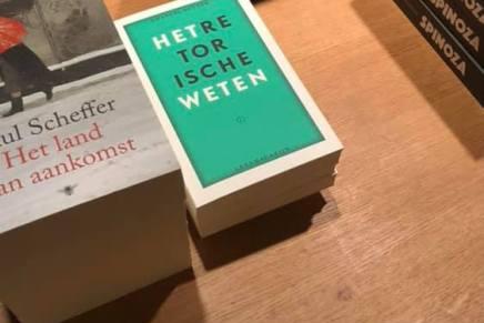 Het retorische weten, Emanuel Rutten, Nacht van de filosofie