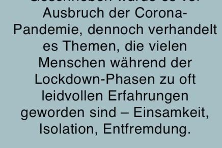 """""""Flüstern in stehenden Zügen"""" Hörspiel nach dem Theaterstück von Clemens J. Setz – radiohoerer"""