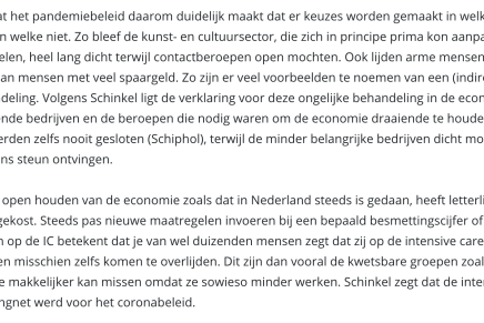 Pandemocratie, boeksamenvatting, Romy van Dijk, Sargasso, 10 augustus 2021