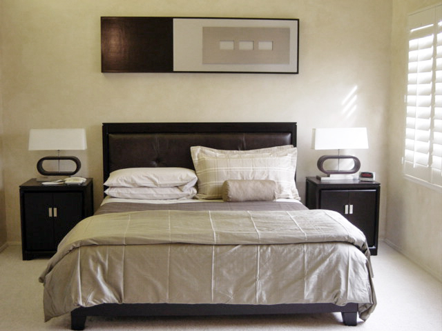 Lee Snijders Designs Contemporary master bedroom