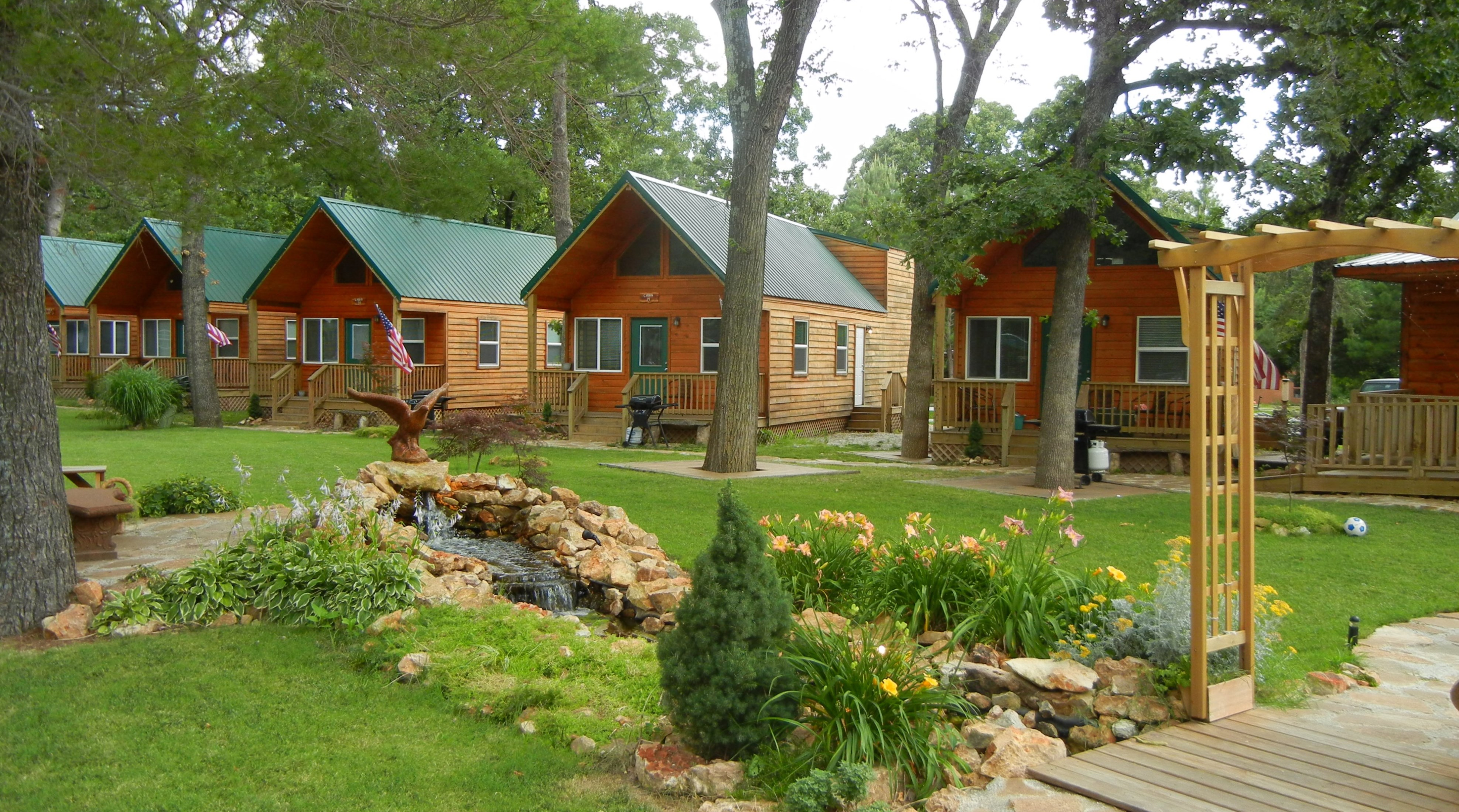 Grand Lake OK Cabin Rentals Hotel Motel Accommodations
