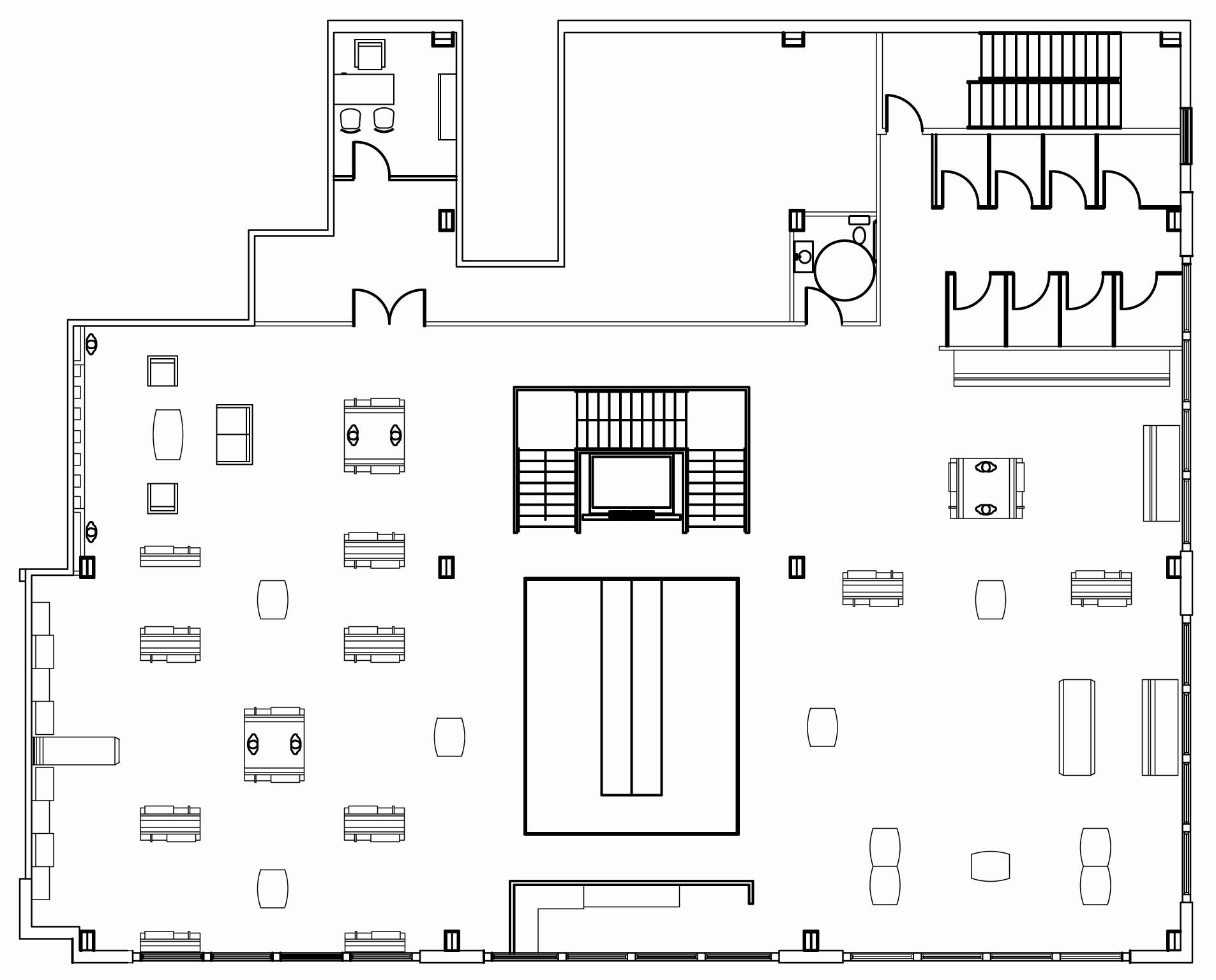 Floor Plan Retail Store Design